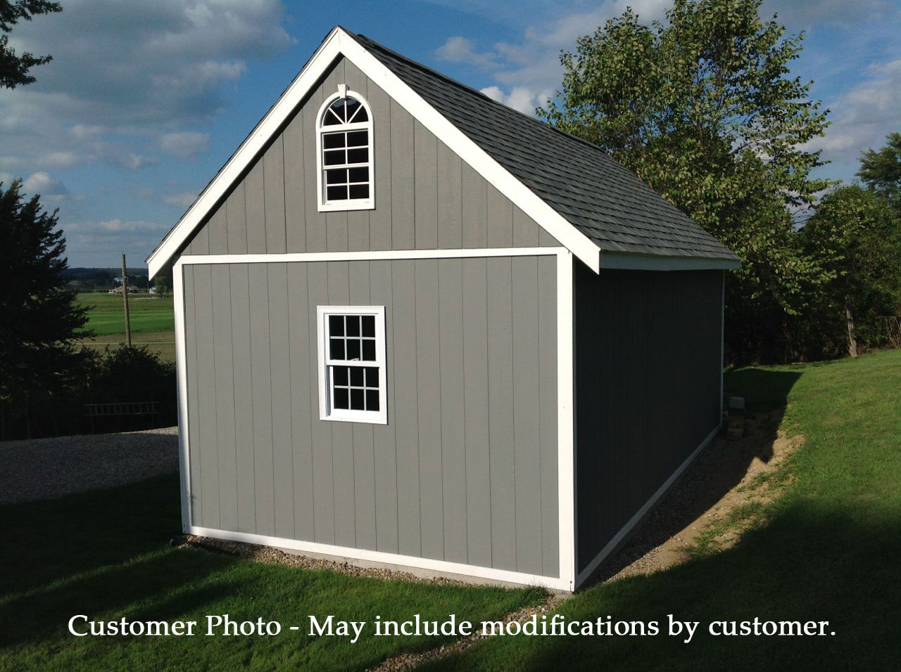 Best Barns Arlington 12x16 Wood Shed Kit On Sale With Fast