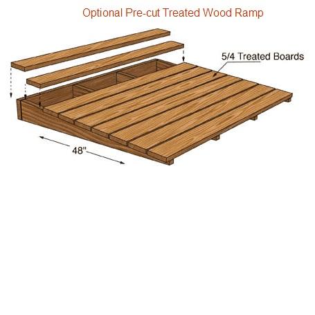 Brandon 12x24 Best Barns Wood Shed Barn Kit