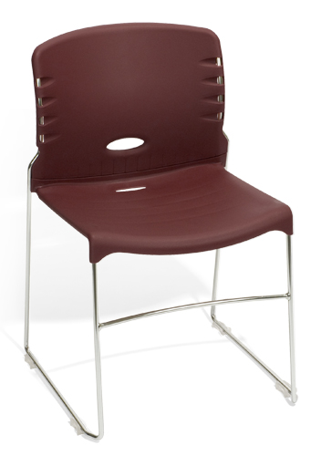 Ofm 320 P 4 Pack Plastic Stacking Chairs Office Stackable Chairs