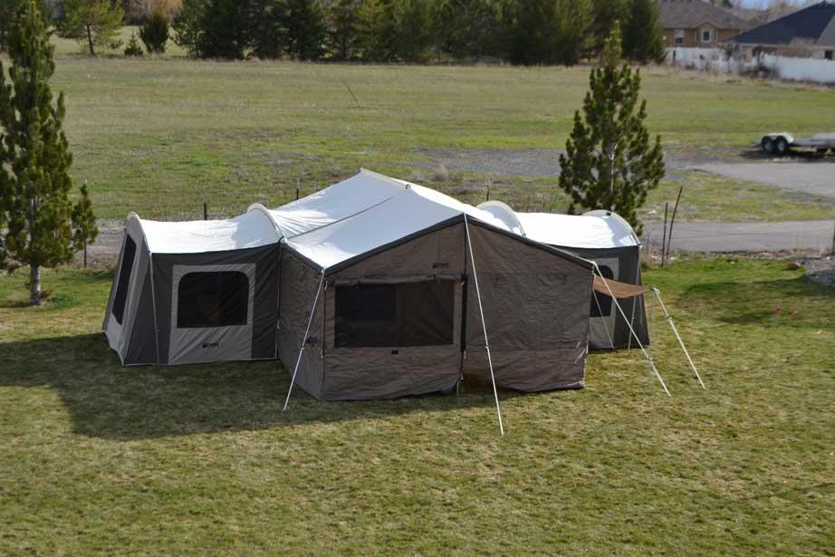 the latest 2addc d379c 6160 Kodiak Canvas Grand Cabin 26x8 12 Person Tent