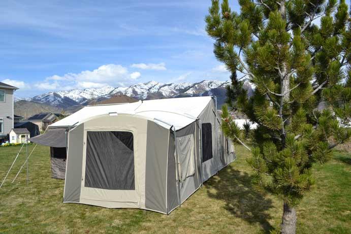 the latest 37531 9b9df 6160 Kodiak Canvas Grand Cabin 26x8 12 Person Tent