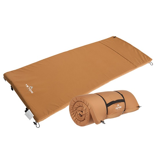 Teton Camping Pads for Ground and Cot Sleeping