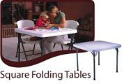 Square Folding Tables