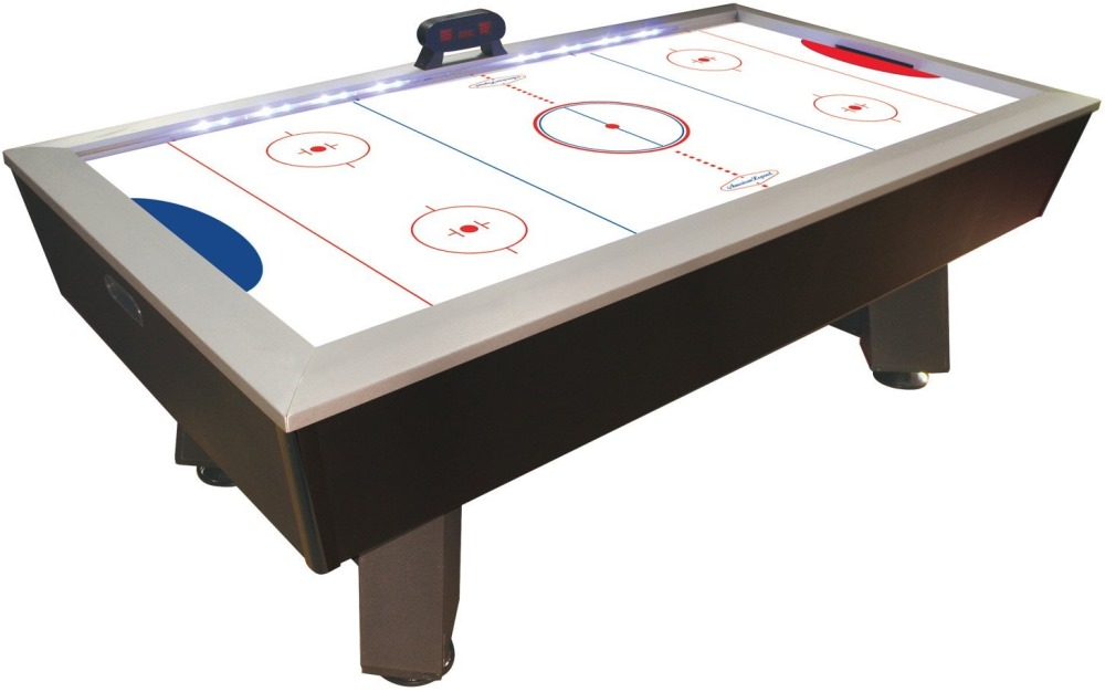 Table hockey tables for home game rooms