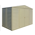 00283 Duramax Woodbridge 10.5 x 5 Shed with Foundation Kit