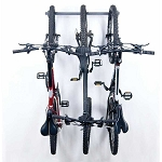Monkey Bar Storage 01003 3-Bike Vertical Bicycle Storage Rack