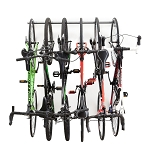 Monkey Bar Storage 01006 6-Bike Vertical Bicycle Storage Rack