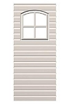 SO Lifetime 0120 Double Walled Panel + Window to 8' Storage Sheds