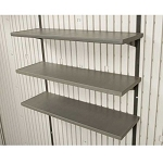 Lifetime 3-Pack Shelving for 7, 8, 10, 11 & 15 ft Sheds