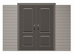Lifetime Storage Sheds Doors 0145 Doors to 11-Foot Wide Lifetime Sheds