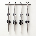 Monkey Bar Storage 03004 4 Pair Ski Storage Rack