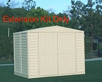 04112 Extension Kit for Duramate Sheds