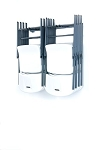 Money Bar Storage Small Folding Chair Rack