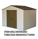 Duramax 10.5'x8' Westchester Double Wall Vinyl Shed