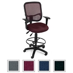 Mesh Back Office Chair 130-AA3-DK OFM Task Chair With Arms/Footrest