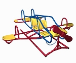Lifetime Airplane Teeter Totter Ace Flyer 151110 Primary Color Double Play