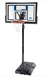 SO Portable Basketball Hoop 1525 Courtside 50 Shatter Guard Backboard