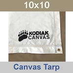 10x10 Kodiak Canvas Tarp Floor Liner 1571