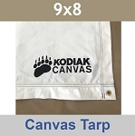 9x8 Kodiak Canvas Tarp and Floor Liner 1579
