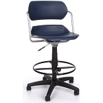 OFM Swivel Stool - 200-dk Adjustable Stool