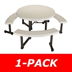 Strange Lifetime Round And Rectangular Folding Picnic Tables Bulk Onthecornerstone Fun Painted Chair Ideas Images Onthecornerstoneorg
