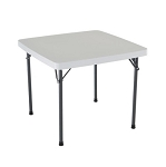 Lifetime Folding Card Table 22315 37-inch Square Top