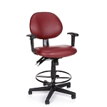 Computer Office Chair - OFM 241-VAM-AA-DK 24 Hour Task Chair