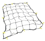 Cargo Net with 16 Durable Nylon Hooks 36x60 in Stretches to 60x90 in