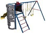SO Big Stuff 256001 / 256000 Backyard Play Set Basic Lookout 3 Swing