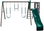 Lifetime Swing Sets - 266001 Earth Tone Play set