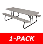 Lifetime Products 80123 8 ft. Putty Commercial Folding Picnic Table