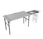 280813 Lifetime 4-Foot Tailgate Table