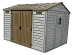 Apex 10.5 x 8 Shed with Foundation Kit