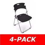 Ofm 303 Polypropylene Chair That Folds (4 Pack)