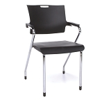 OFM 304-P Smart Series Stacking Chairs 4 Pack