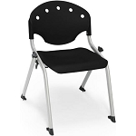 4 OFM 305-14  14 in Height Student Size Rico Plastic Stacking Chairs