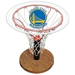 NBA Basketball Acrylic Sports Table with Golden State Warriors Logo