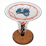 NBA Basketball Acrylic Sports Table with Orlando Magic Logo