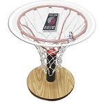 NBA Basketball Acrylic Sports Table with Portland Trailblazers Logo