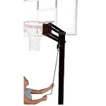 Spalding Basketball Accessories 3-part 4 in. Square Pole U-Turn Lift