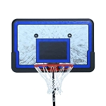 Lifetime Basketball 44 Impact Backboard Rim Combo 3241 Polyethylene
