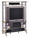SO OFM 32908 Gusdorf TV Audio/Visual Maple Shelf Entertainment Center