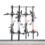 Monkey Bar Storage 01004 4-Bike Vertical Bicycle Storage Rack