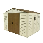 40214 Duramax Woodbridge Plus 10.5 x 8 Shed With Foundation Kit