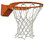 7804SP Spalding Basketball Accessories Orange Flex Breakaway Rim