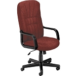 OFM 450-2335 Burgundy Executive Office Chair High-Back