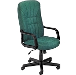 OFM 450-2339 Green Executive Office Chair High-Back