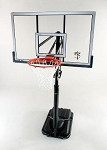 SO Reebok Portable Basketball System - 51523 54-inch Backboard