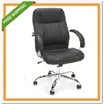 OFM Stimulus Mid-Back Leatherette Executive/Conference Chair 517-LX