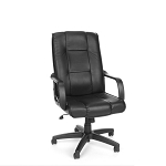 OFM Executive Leather Adjustable Office Chair 520-L